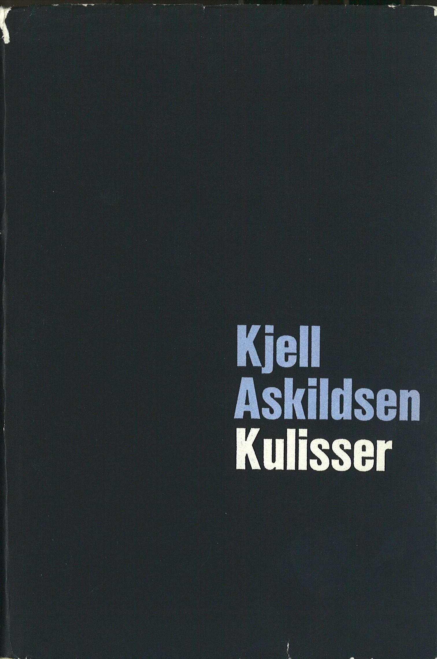 Kulisser, Aschehoug 1966