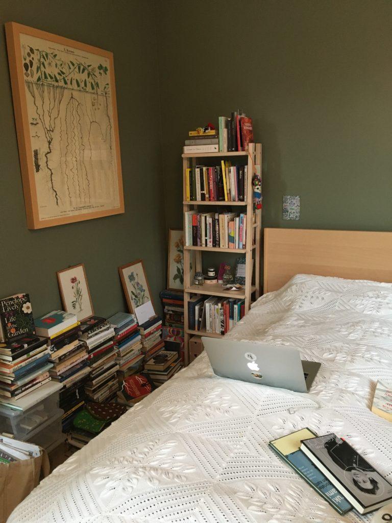 Mirjam Kristensen har skrevet den nye romanen sin på i hvert fall tre/fire ulike steder.
